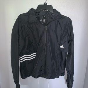 Adidas Cropped Windbreaker Jacket NWT